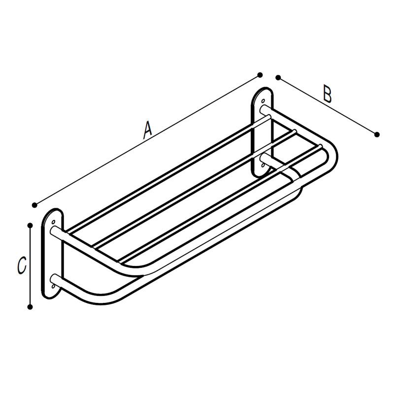 Disegno Struttura porta teli Disegno Tecnico F47APS04