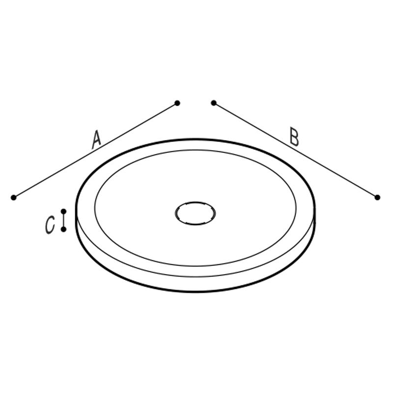 Disegno Piatto doccia Disegno Tecnico B46CPM51
