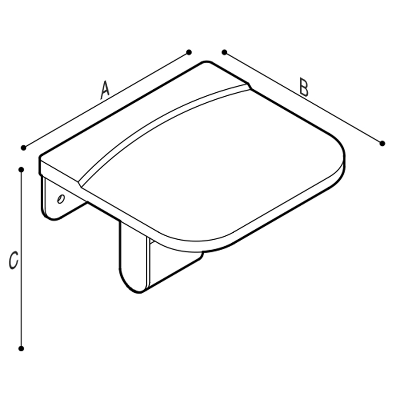 Draw Roll paper holder Technical Drawing F47AGM01