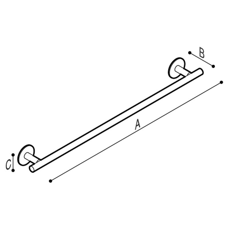 Disegno Porta teli Disegno Tecnico F47AMS01