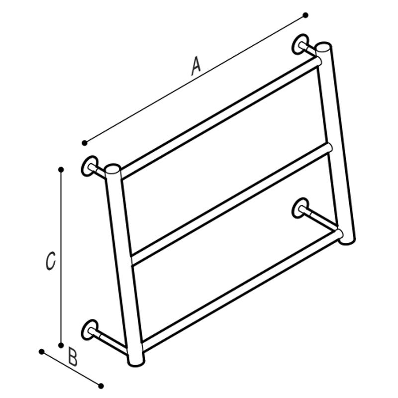Disegno Struttura porta teli Disegno Tecnico F47APS05