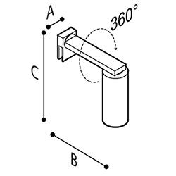 Disegno Lampada a LED Disegno Tecnico Y91ASS07